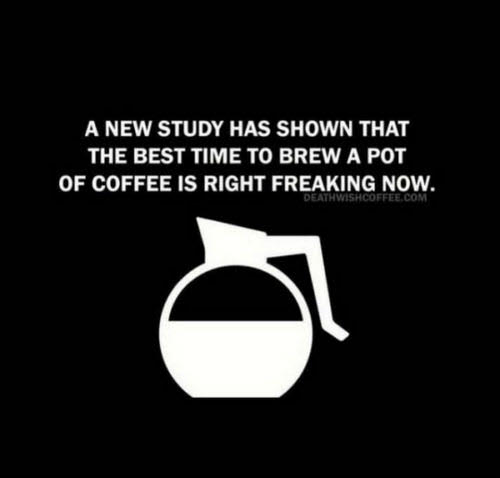 Coffee: Research Shows